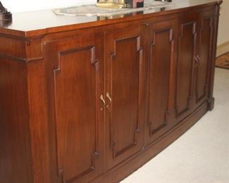 Traditional buffet/server/sideboard.