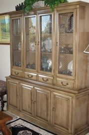 Ethan Allen china hutch.