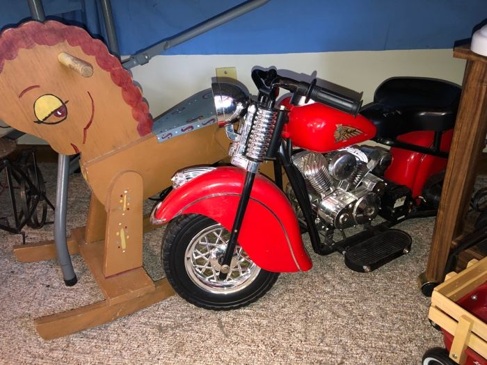 Indian Motorcycle electric ride on toy