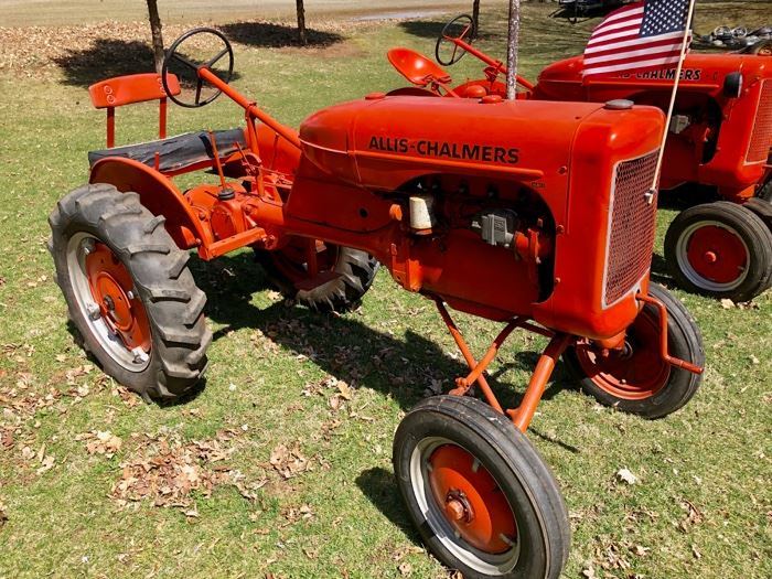 1938 Allis Chalmers B tractor