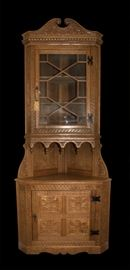 Attributed to Hewetson Milner and Thexon Corner Cabinet