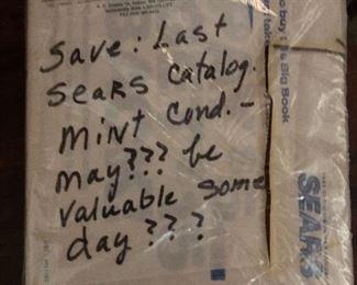 The last Sears catalog