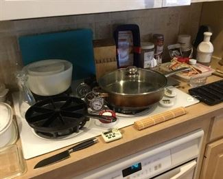Pans and mixing bowls
