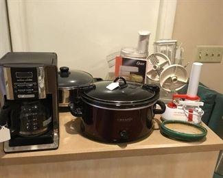 Assorted appliances