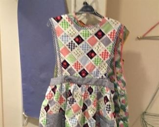 Ironing board and Apron