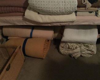 Foam mattress and bedframe