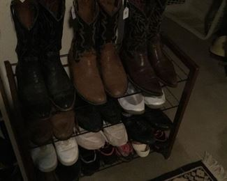 Men boots and shoes