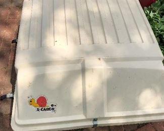 X-Cargo top car mount carrier box.  Excellent condition!