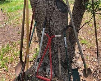 Various yard tools