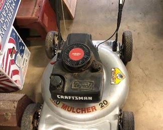 "20"" Craftsman mulching mower"