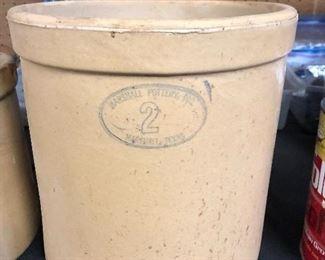 #2 Marshall Pottery crockware