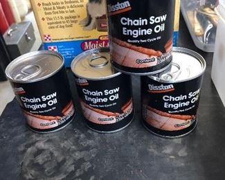 1/2 pint Chain saw oil