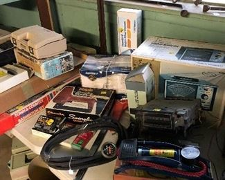Electric stapler and staples, air pumps