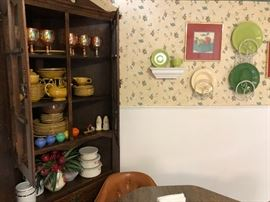 Fiestaware dishes galore!!  Call Jim for list of pieces and pricing....
