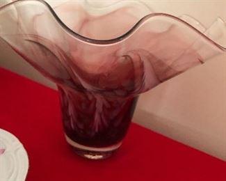 Studio art vase