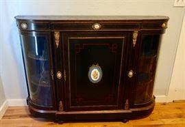 PRESALE $550.00 Beautiful Sideboard/Curio Cabinet   58 x 42 x 15