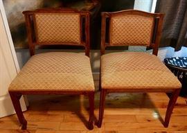 Beautiful side chairs