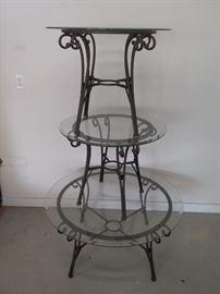 Three Glass Tables