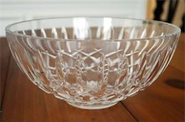 5. Large WATERFORD Crystal or Glass Bowl