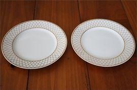 11. Pair of TIFFANY Co Dessert Plates
