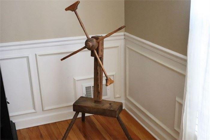 12. Antique Wooden Sculpture