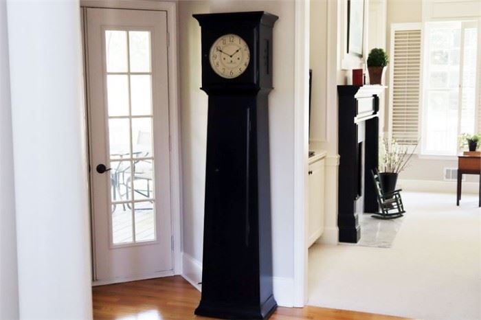 14. ETHAN ALLEN Grandfather Clock with Key