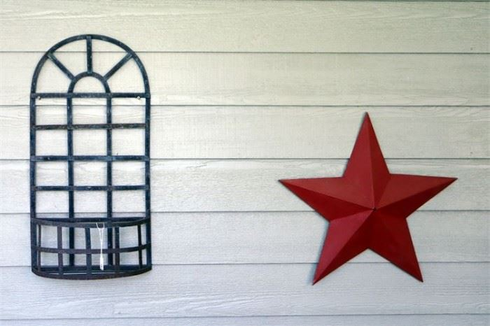 18. Two 2 Outdoor Decorations