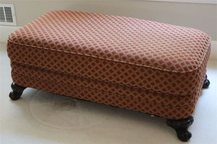 30. Large Upholstered Ottoman