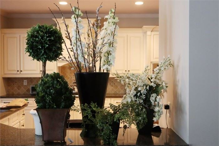 41. Group Lot of Decorative House Plants