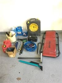 51. Group of Utilitarian Garage Items