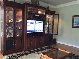 """Perfect for a Premier size home. Samsung TV is 54"""""""