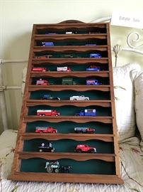 Collection of Chevron Die Cast Cars & Trucks