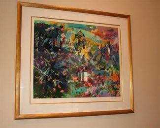 Leroy Neiman Lithograph – Waterloo