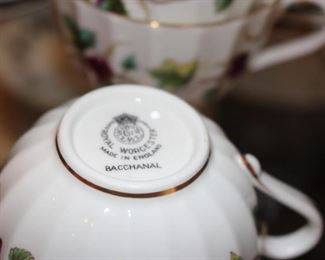 Royal Worcester Bacchanal China