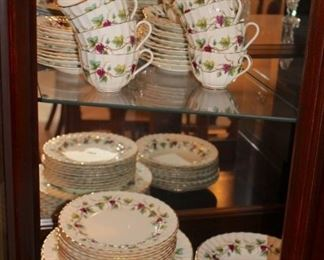 Royal Worcester Bacchanal China Set
