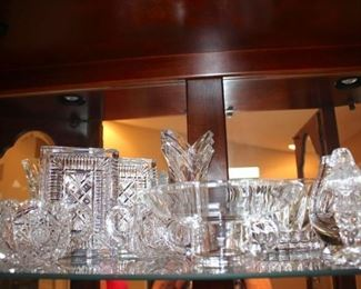 Loads of Decorative Serving Pieces