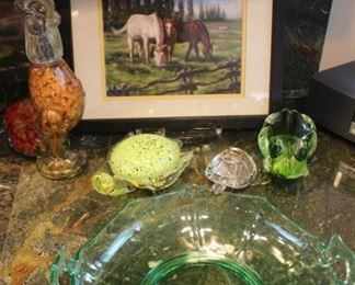 Variety of Decorative Items