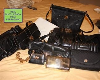Handbags by MCM, Gucci, Farragut Amo, Prada and More Not Yet Seen!