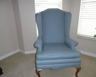 Light blue upholstery