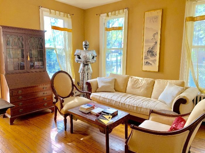 Eclectic Victorian Home Downsizing Sale Bethesda
