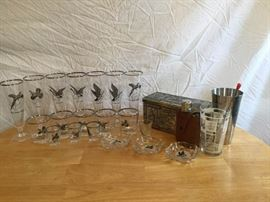 Barware ft. Waterfowl Glass https://ctbids.com/#!/description/share/135416
