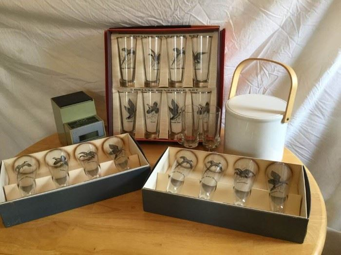 Vintage Mallard Bar Glasses & More https://ctbids.com/#!/description/share/135424