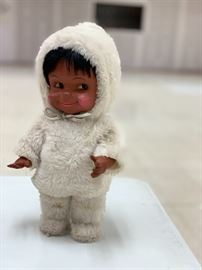 Cast a spell on your enemies with this creepy baby....