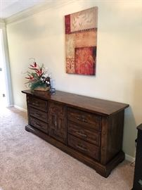 Bedroom dresser or console