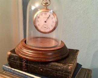 Gold-filled antique pocket watch