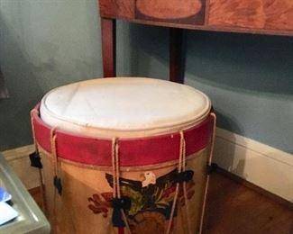 Vintage drum (replica) stool