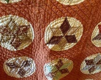 Antique handmade quilt