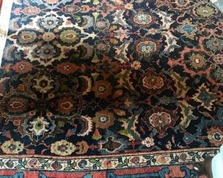Antique rug, approximately  11' x 11'