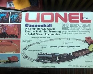1970's Lionel train set (in box)