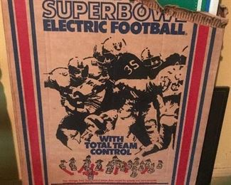 1970's electric football game